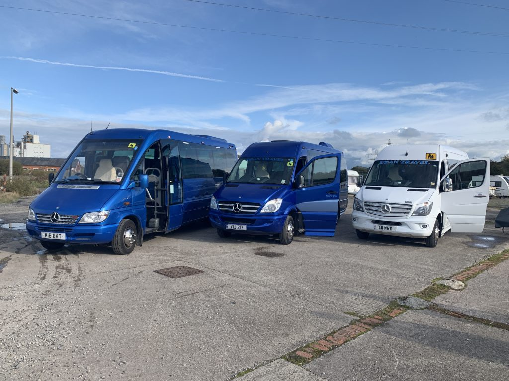 Dean Travel fleetwood Mini Coach fleet