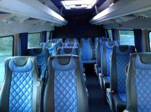 Dean Travel Fleetwood Luxury Seating